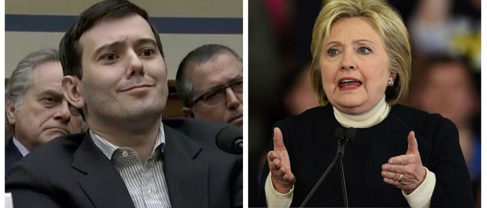 Scumbag, Pharmaceutical Bro Martin Shkreli Trolls Hillary On Twitter (YouTube/Getty Images)