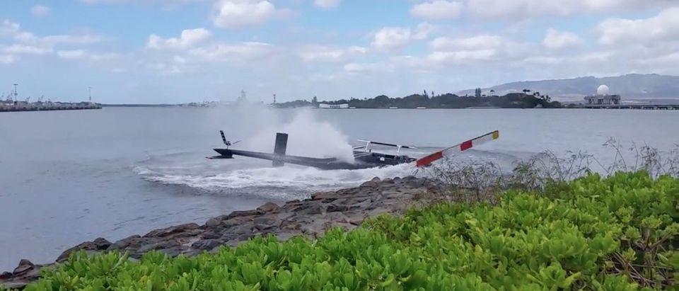Helicopter Crash (Credit: Screenshot/Youtube mrmotofy)