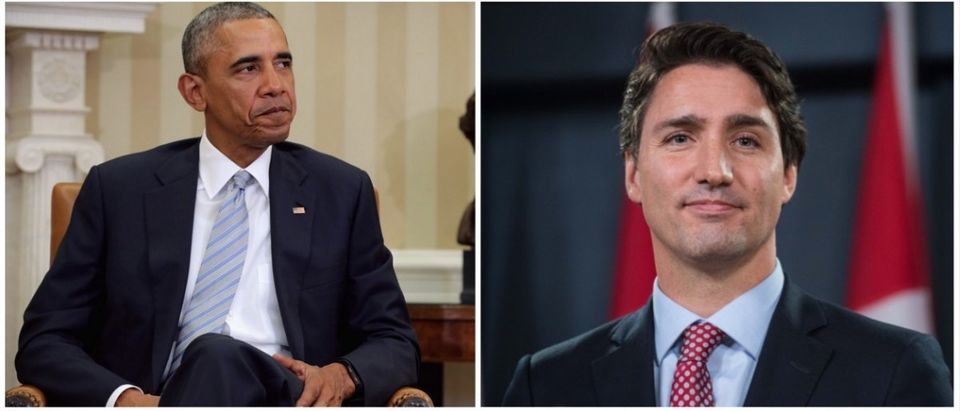 Obama and Trudeau (Credit: Getty Images)