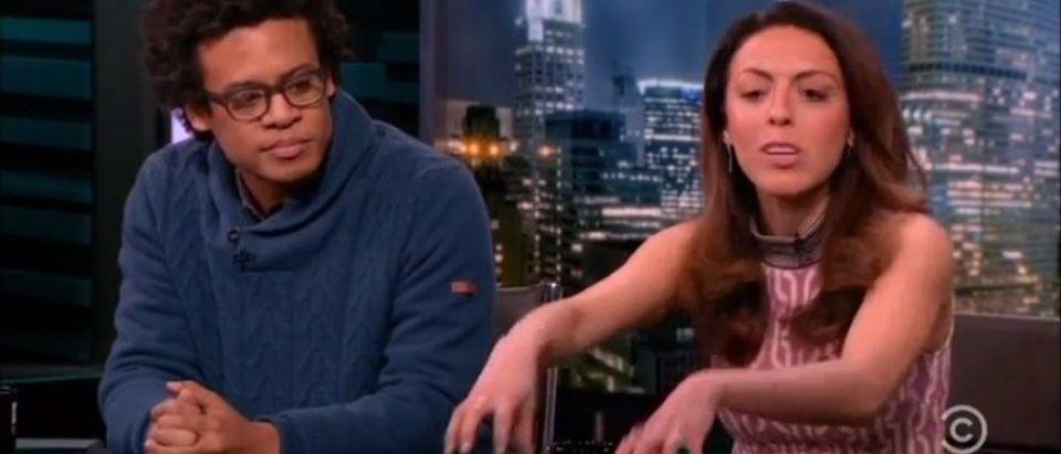 Nightly Show: Cruz, Rubio Aren't 'Latino' Enough (screenshot: Comedy Central)