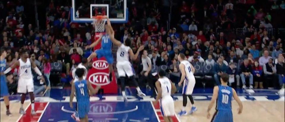 Aaron Gordon (Credit: Screenshot/Youtube NBA)