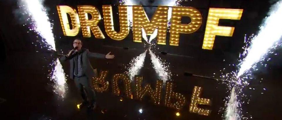 HBO's John Oliver Goes On 20-Min, Anti-Trump Tirade: 'Mr Trump, I Await Your Lawsuit' (YouTube)