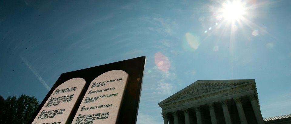 Activists Await U.S. Supreme Court Ruling on Ten Commandments