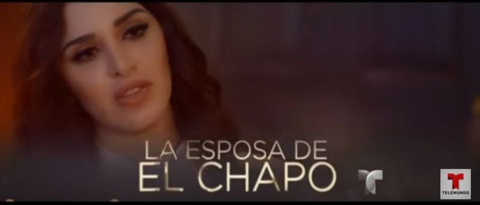 Wife of El Chapo - Telemundo Screen grab