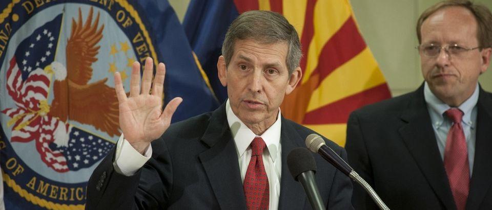 New Acting Secretary Of Veterans Affairs Visits Phoenix VA Medical Center