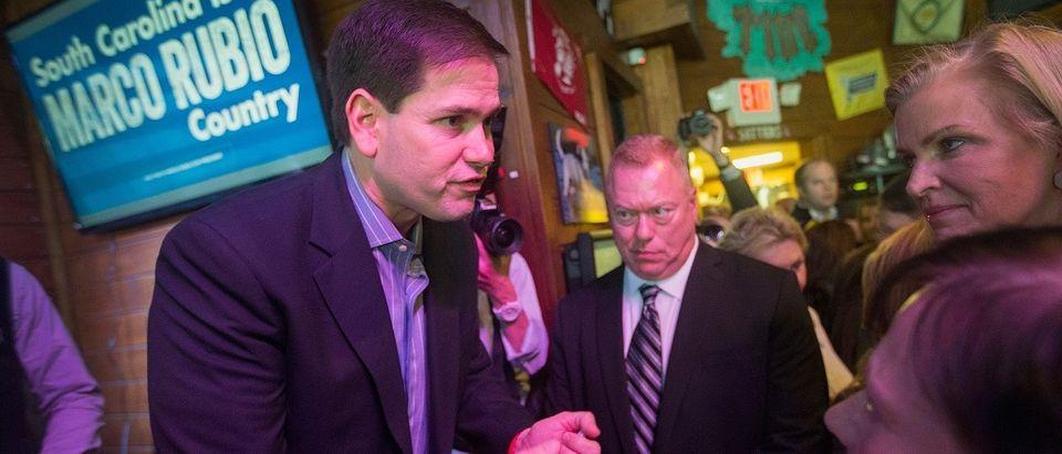 Republican Presidential Candidate Sen. Marco Rubio Campaigns In South Carolina