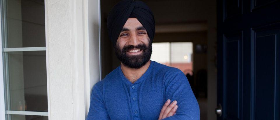 U.S. Army Captain Simratpal Singh (Photo: The Sikh Coalition)