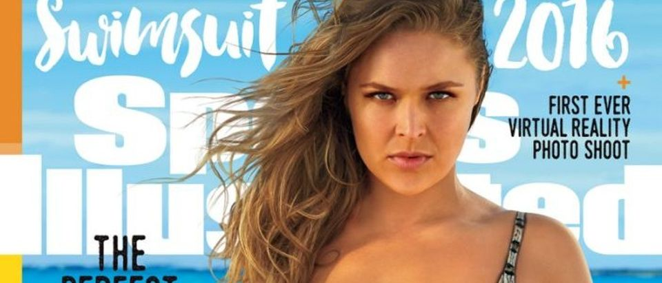 Ronda Rousey makes the cover of Sports Illustrated