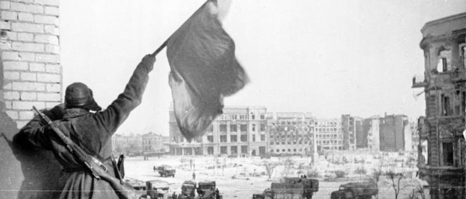 Soviet soldiers at the Battle of Stalingrad, 1943 [German Federal Archive/Creative Commons]