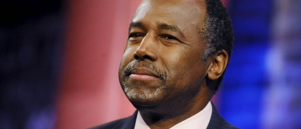File photo of Republican U.S. presidential candidate Ben Carson during a campaign town hall hosted by CNN in Greenville South Carolina
