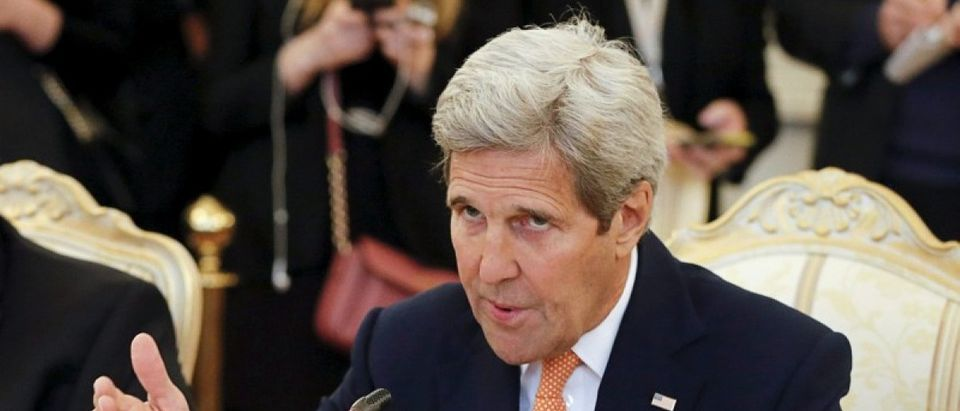 U.S. Secretary of State Kerry meets Russian Foreign Minister Lavrov in Moscow