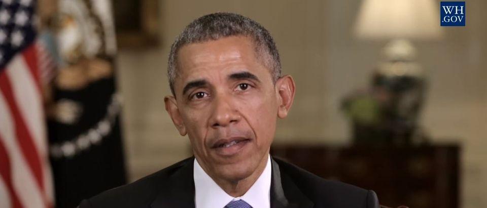 Barack Obama, Screen Shot White House YouTube, 3-26-2016