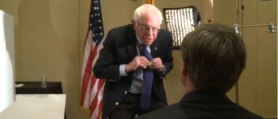 Bernie Sanders, Screen Shot 12News.com, 3-18-2016