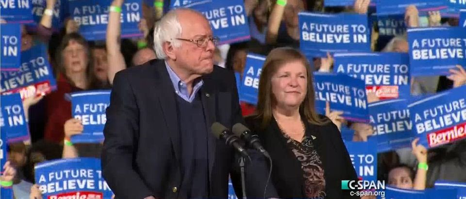 Bernie Sanders, Screen shot CSPAN 3-1-2016