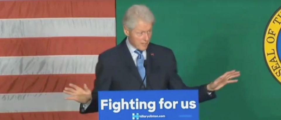 Bill Clinton, Screen Shot RNC YouTube, 3-21-2016