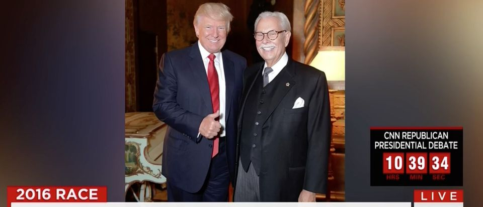 Donald Trump, Tony Senecal, Screen Shot CNN, 3-10-2016