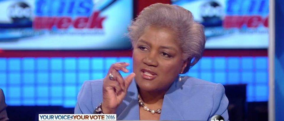 Donna Brazile, Screen Shot ABC's 'This Week' 3-13-2016