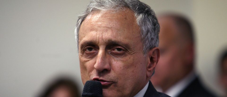 Republican Gubernatorial Candidate Carl Paladino Campaigns On Long Island