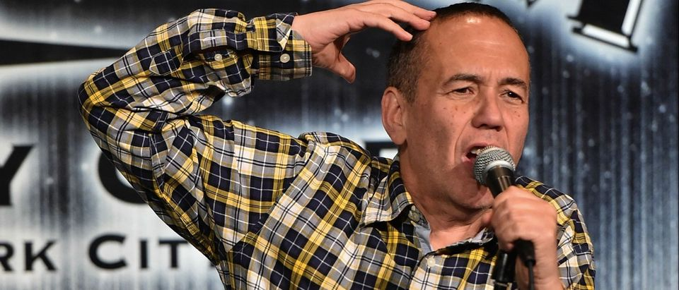 Comedian Gilbert Gottfried performs onstage at the 2014 Laugh For Sight Benefit at Gotham Comedy Club on Oct. 27, 2014 in New York