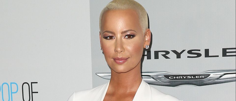 Amber Rose is leaving country if Donald Trump is elected.
