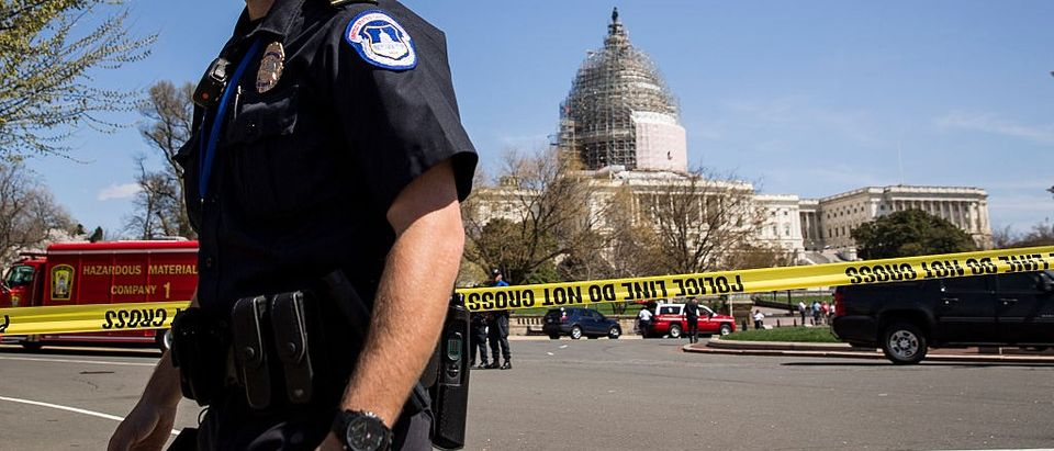 BREAKING: Capitol On Lockdown For Second Day In A Row (Getty Images)