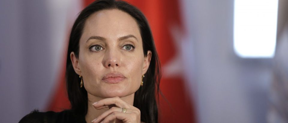Angelina Jolie speaks about refugees