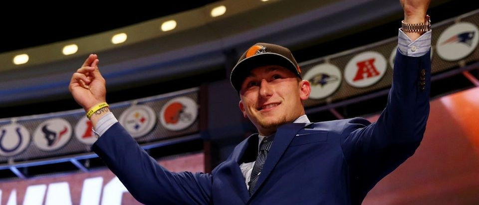 Johnny Manziel (Photo by Elsa/Getty Images)