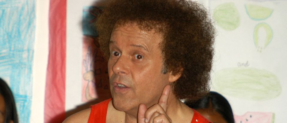 Richard Simmons being held hostage?