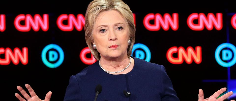 Hillary Clinton used static noise machine fundraiser