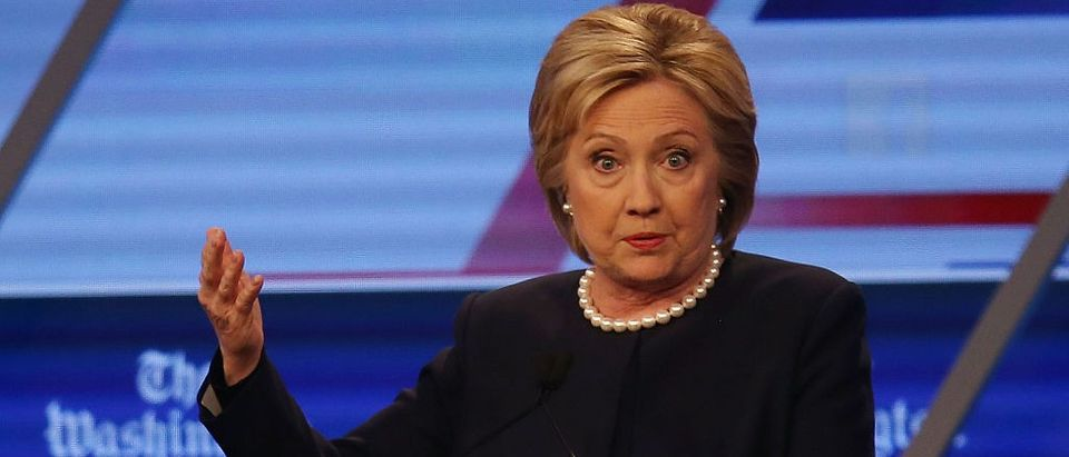 Clinton Caught Breaking More Rules (Getty Images)