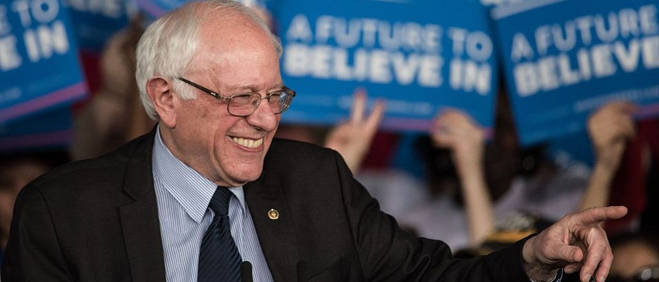 Bernie Sanders Campaigns In Charlotte One Day Ahead Of NC Primary