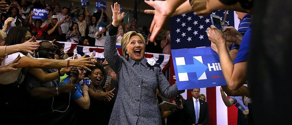 Hillary Wins North Carolina Primary (Getty Images)