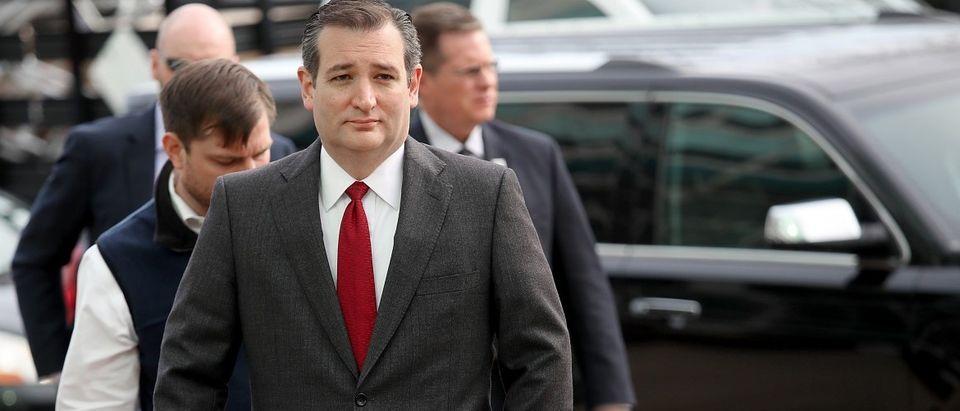 GOP Presidential Candidate Ted Cruz Addresses Recent Terror Attacks In Belgium