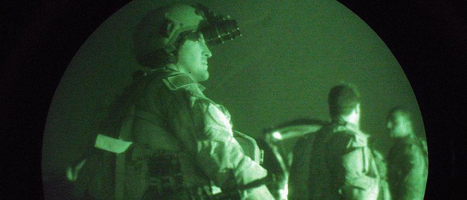 U.S. Navy Seals Prepare For Night Mission In Fallajah