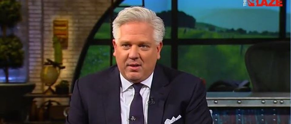 Glenn Beck, Screen Shot TheBlazeTV, 3-24-2016