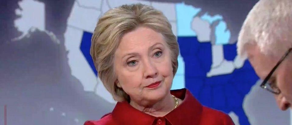 Hillary Clinton, Screen Shot CNN, 3-21-2016
