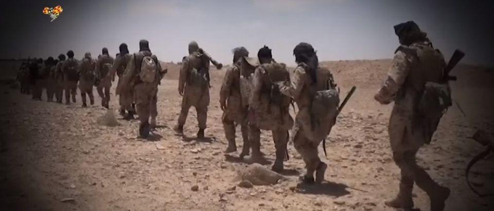 ISIS flees