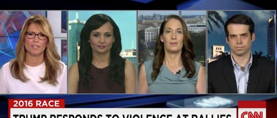 Katrina Pierson, Jamie Weinstein, Screen Shot CNN, 3-11-2016