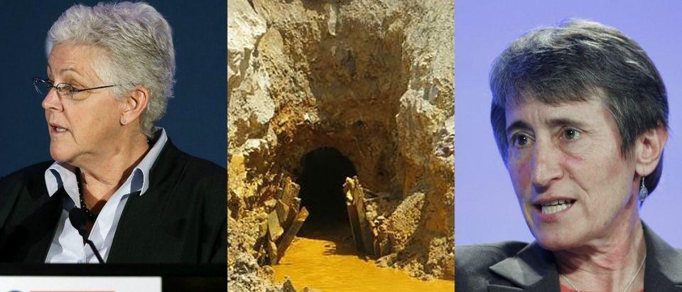 EPA Administrator Gina McCarthy, the Gold King Mine and DOI Secretary Sally Jewell