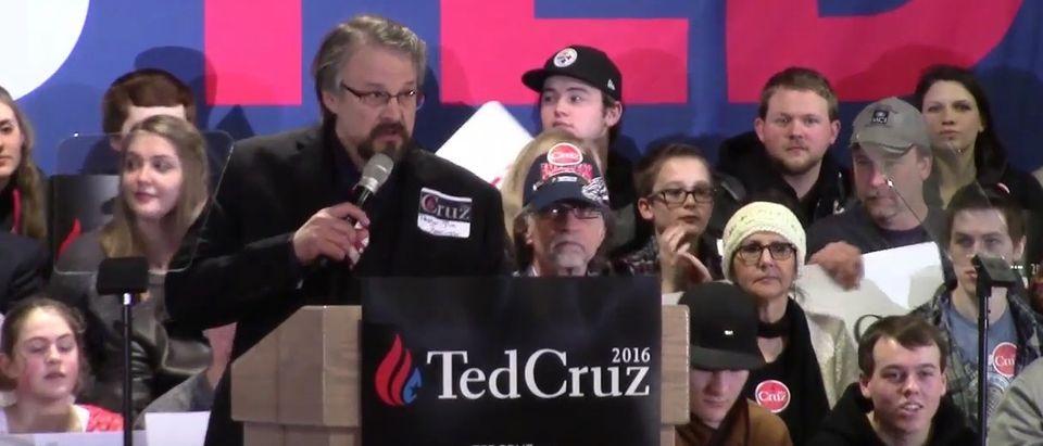 Pastor Tim Remington Ted Cruz Rally