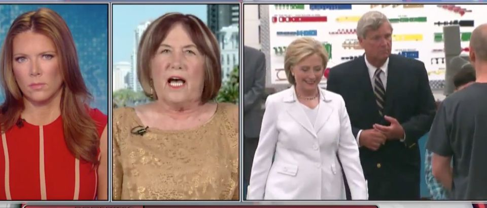 Patricia Smith, Hillary Clinton, Screen Shot FBN, 3-10-2016