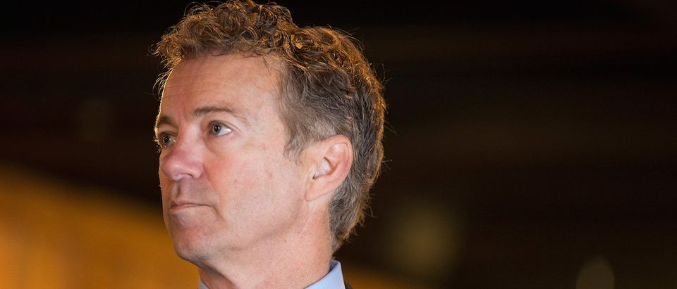 Rand Paul Campaigns In Iowa