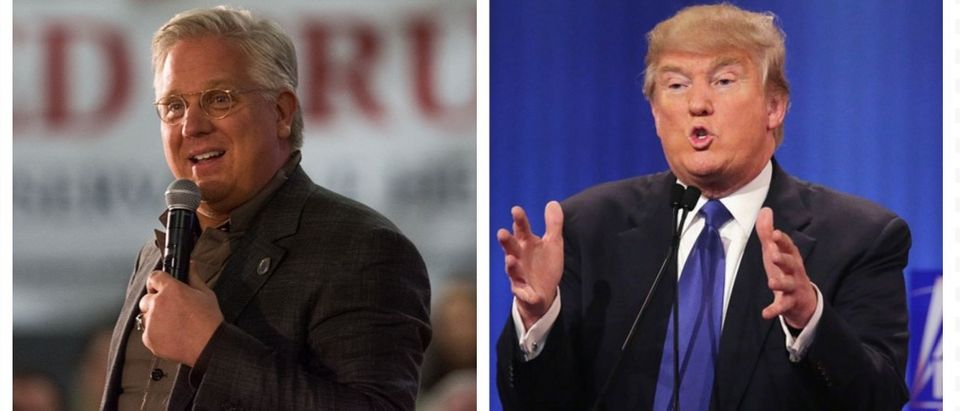Glenn Beck and Donald Trump (Getty Images)