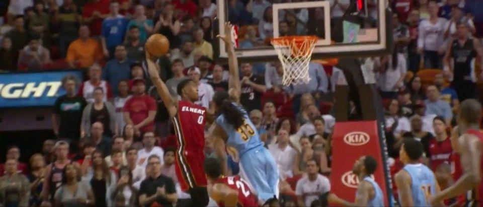 Josh Richardson (Credit: Screenshot/Youtube Miami Heat)