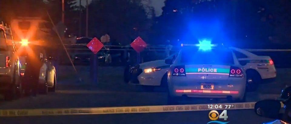 Miami Shooting (Credit: Screenshot/Video CBS Miami)