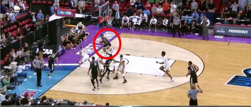 Rodney Bullock (Credit: Screenshot/Youtube NCAA March Madness)