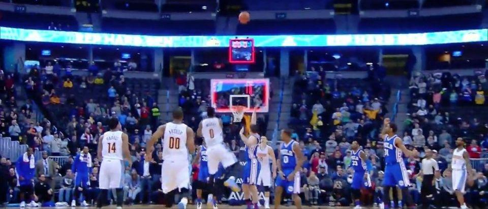 Emmanuel Mudiay (Credit: Screenshot/Youtube NBA)