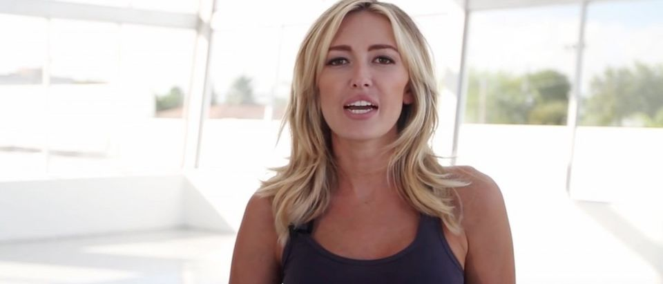 Paulina Gretzky (Credit: Screenshot/Youtube Golf Digest)