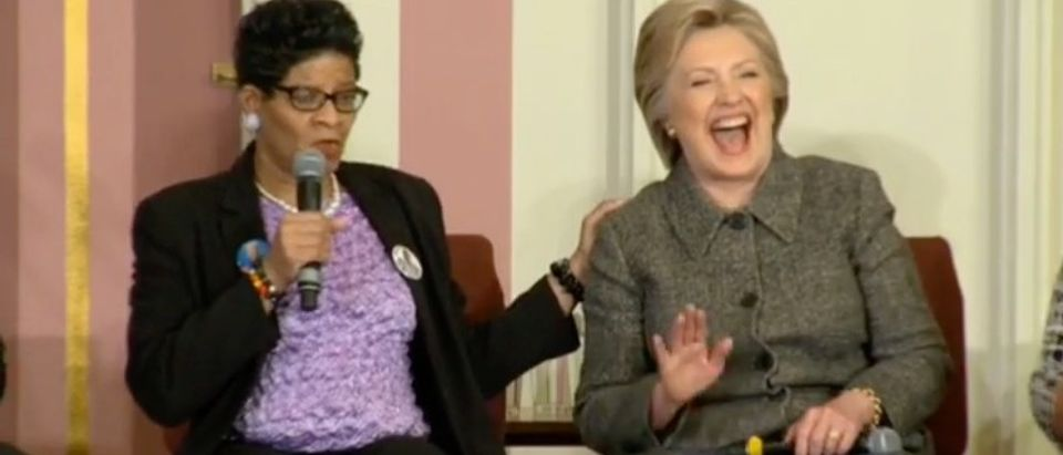 Here's Hillary Laughing About All The Times Bill Couldn't Keep It In His Pants (YouTube)