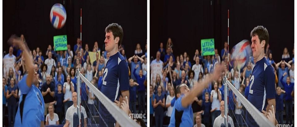 We Can't Stop Watching This Bro Take A Volleyball To The Face. Over And Over And Over Again (YouTube)